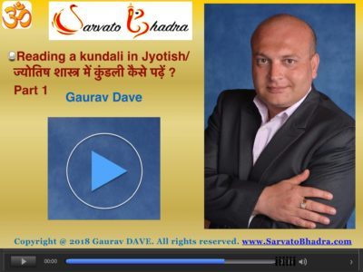 Reading a kundali in Jyotish